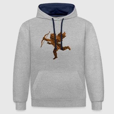 Cupid gift trend - Contrast Colour Hoodie