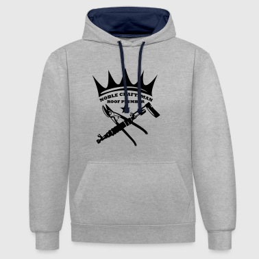 Noble Craftsmen - Roof Plumber - Contrast Colour Hoodie