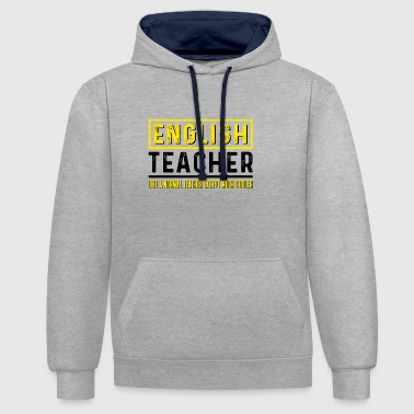 Docent Engels - Docent Engels - Contrast hoodie