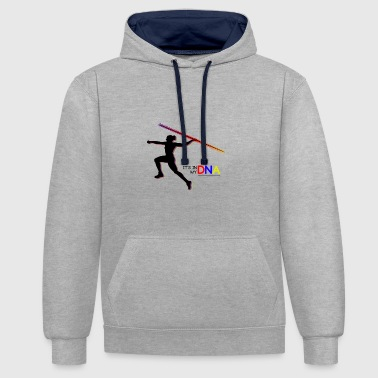 Javelin in my DNA Genes Gift - Contrast Colour Hoodie
