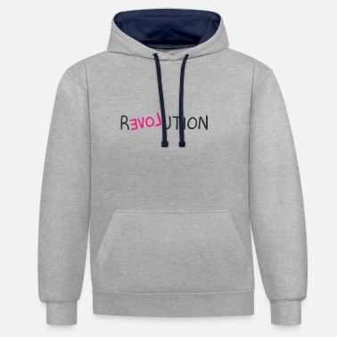 We Are The 99 Percent revolution - Unisex Contrast Hoodie