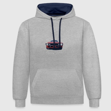 Muscle car - Contrast Colour Hoodie