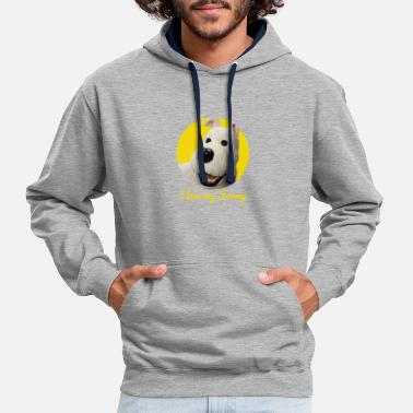 Snowy Snowy - Contrast Colour Hoodie