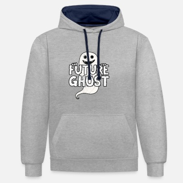 Paranormal Ghosts - Future Ghost - Contrast Colour Hoodie