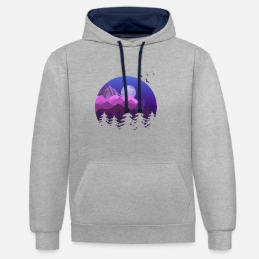 Wilderness wilderness - Contrast Colour Hoodie
