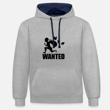 Wanted Wanted - Sweat-shirt contraste