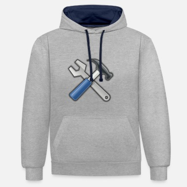Tools Tools - Contrast Colour Hoodie