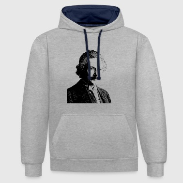 Albert Einstein Albert Einstein - Sweat-shirt contraste