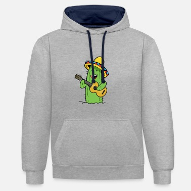 Cactus Mexican - Sweat-shirt contraste