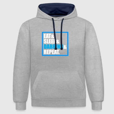 Dab Gift Mainstream Origin Youth Hip Hop - Contrast hoodie