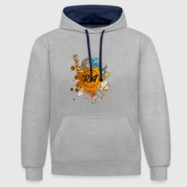 Animaux de compagnie - Sweat-shirt contraste