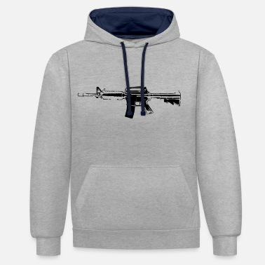 Rifle Rifle - Contrast Colour Hoodie
