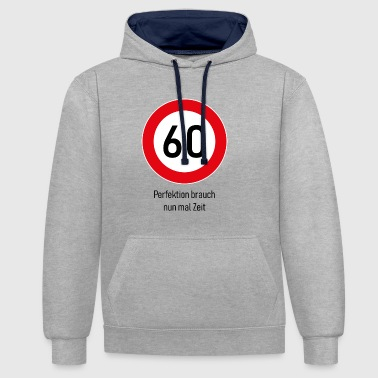 60 Years 60 years - Contrast Colour Hoodie