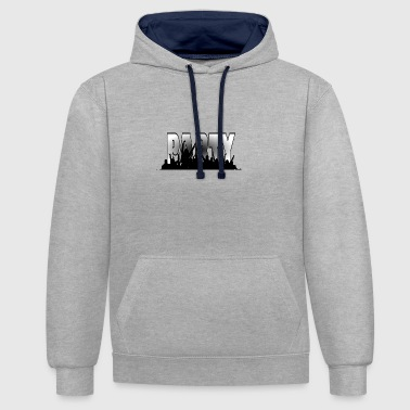Party PARTY - Contrast hoodie