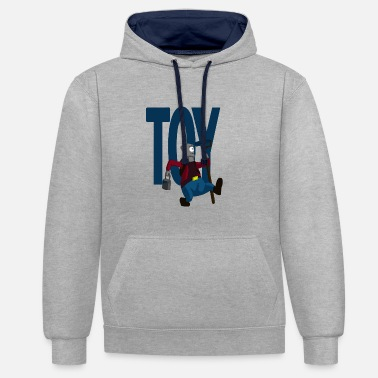 Toy Boy - Contrast Colour Hoodie