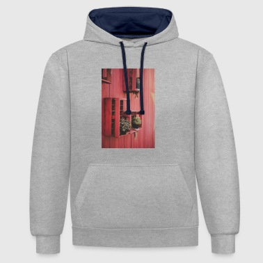 Decoration - Contrast Colour Hoodie