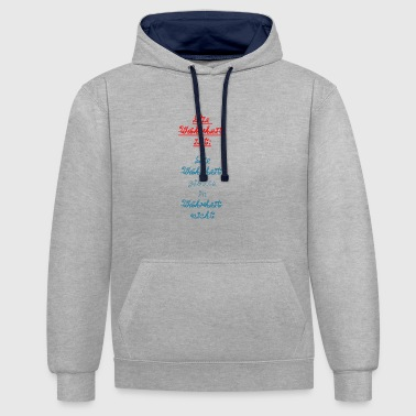 Truth The truth is truth is in truth ... - Contrast Colour Hoodie