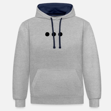 Madness ... - MAD - Contrast Colour Hoodie