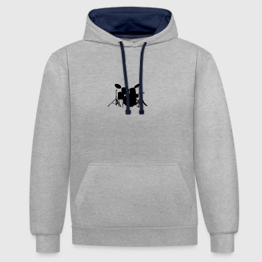 instruments - Contrast Colour Hoodie