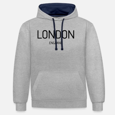 England London england - Unisex Contrast Hoodie