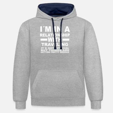 Relationships relationship with - Unisex Contrast Hoodie