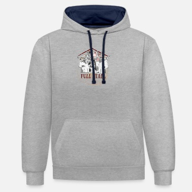 Stall Full Stall - Unisex Contrast Hoodie