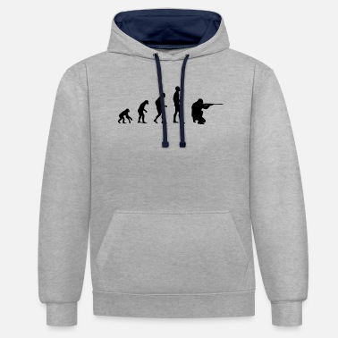 Shooting Evolution shooting - Unisex Contrast Hoodie