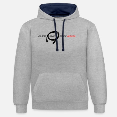 Stage Cool and funny sound engineer design with Auxweg - Unisex Contrast Hoodie