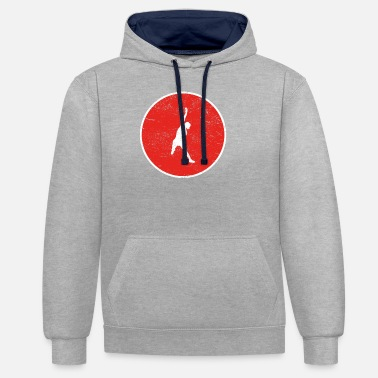 Beach Volleyball Gift volleyball beach volleyball beach - Unisex Contrast Hoodie