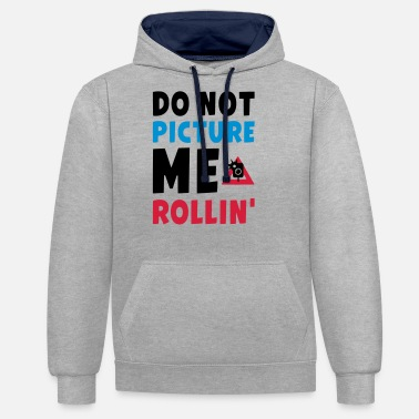 2 Pac DO NOT PICTURE ME ROLLIN - PAC - Unisex Hoodie zweifarbig