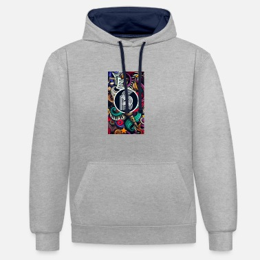 Secret Blend (SB) Art - Unisex Contrast Hoodie