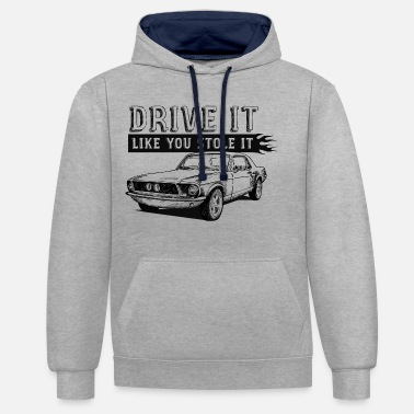 Drive It - Coupe - Unisex Contrast Hoodie