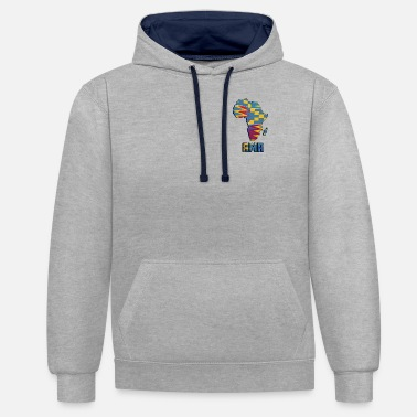 Birth Name Call me by my name ! Ama Ghana - Saturday. - Unisex Contrast Hoodie