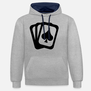 Cards Ace Cards - Unisex contrast hoodie