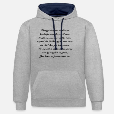 Jennifer Connelly Labyrinth - Unisex Contrast Hoodie