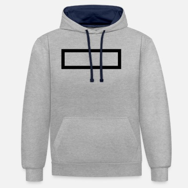 Rectangle Rectangle - Unisex Contrast Hoodie