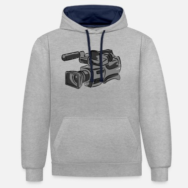Television television - Unisex Contrast Hoodie