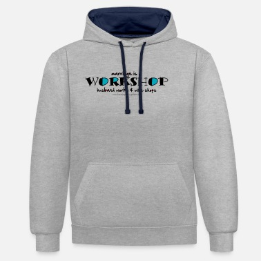 Workshop Workshop - Unisex Contrast Hoodie