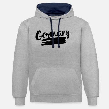 Flag Of Germany Germany flag – flag of Germany - Unisex Contrast Hoodie