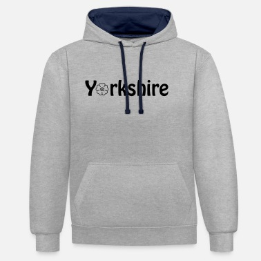 Yorkshire yorkshire - Unisex Contrast Hoodie