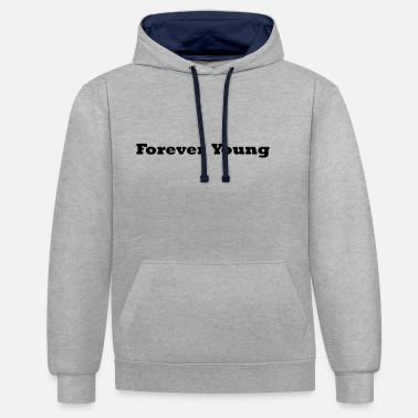 Forever Young FOREVER YOUNG musta - Unisex kontrastihuppari