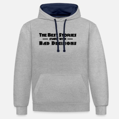 Class Reunion Friends party class reunion - Unisex Contrast Hoodie