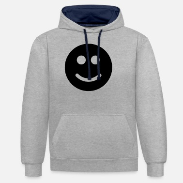 Emoticon Emoticons - Unisex Hoodie zweifarbig