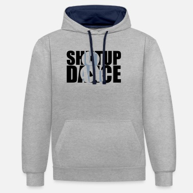 Celebrate shut up and dance - Unisex Contrast Hoodie