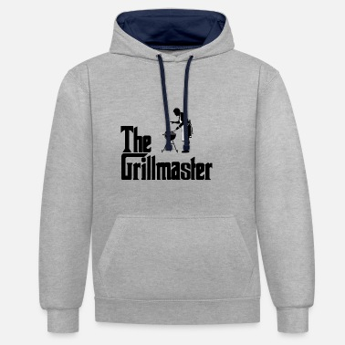 Grillmaster The Grillmaster - Unisex Contrast Hoodie