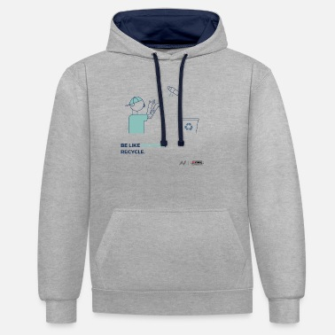 Wees als Micheal - Unisex contrast hoodie