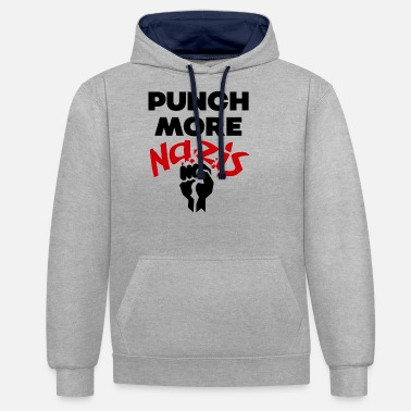 Punch Punch - Unisex Contrast Hoodie