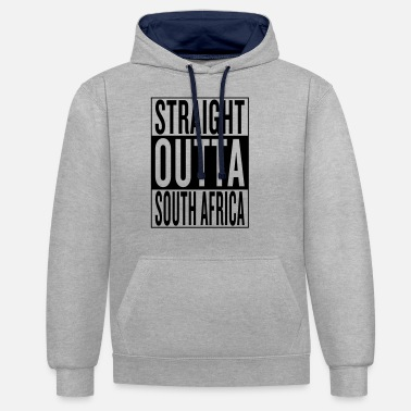 Sudáfrica South Africa - Unisex Contrast Hoodie