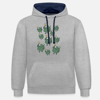 Mascotte mascotte - Unisex contrast hoodie