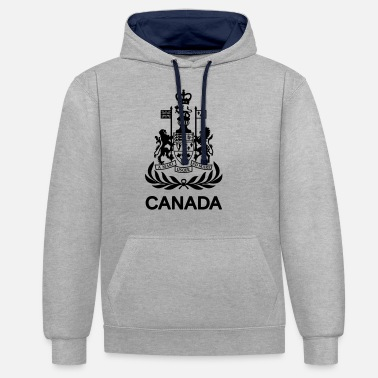 Command Chief Warrant Officer CANADA Army - Unisex Contrast Hoodie